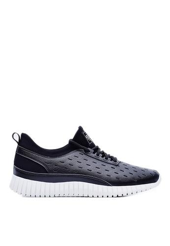 Life8 black 3D Spring Sport Shoes-09381-Black LI286SH62VWZMY_1
