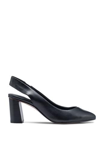 Banana Republic black Slingback Pump Low Block Heels 525BFSH0B94166GS_1