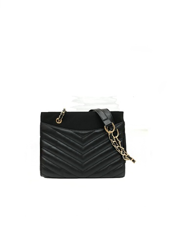 GreyPlus black VINA Classic Crossbody Sling Bag EE8C2AC62EABE9GS_1