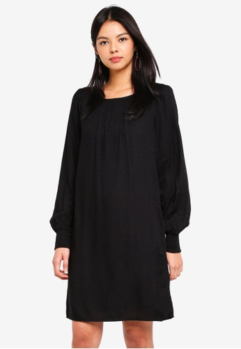 Vero Moda black Vooli Short Dress 53A1EAA1062227GS_1