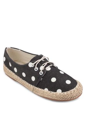 PLAY! ALEX 點點印花繫帶運動鞋,esprit outlet 香港 女鞋, 鞋