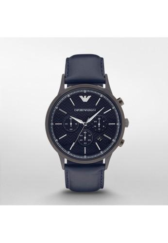 Emporiesprit暢貨中心o Armani RENATO經典系列腕錶 AR2481, 錶類, 紳士錶