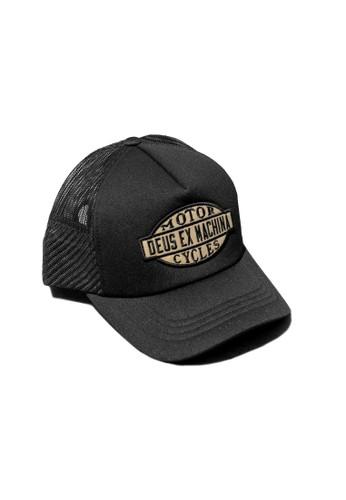 Deus Ex Machina black Coatarms Trucker 58923AC1852C7CGS_1