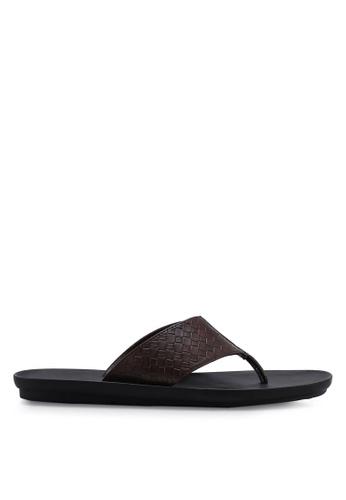 Carlton London 褐色 懶人鞋 涼鞋 50E96SH00820F9GS_1