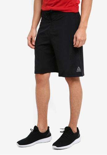 Reebok black Epic 2-In-1 Shorts RE691AA0SW1SMY_1