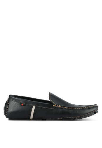 UniqTee black Classic Loafers UN097SH0S21AMY_1