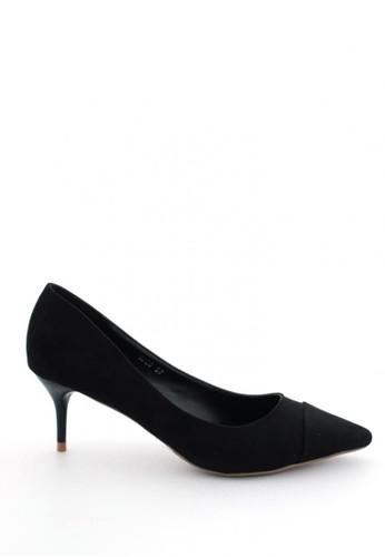 MINKA black Minka Max Black Heels MI006SH67BVKID_1