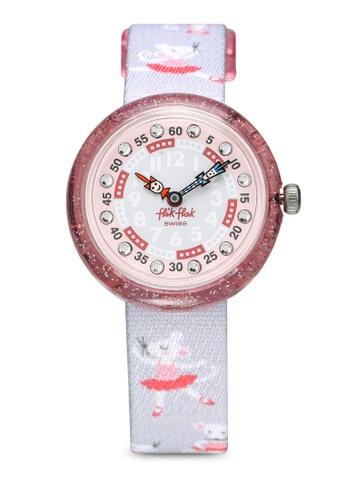 Flik Flak grey Pirouette Watch 0CA31KCA18616DGS_1