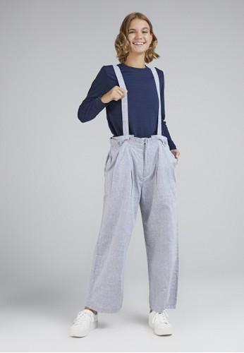 ULTRAVIOLET grey Overall Pants 400 Grey 303C5AA0C62684GS_1