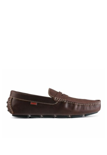 Sogno brown Moccasin Shoes GF.4110 8B9E8SH084D21DGS_1