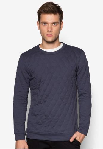 菱格紋軟襯長袖衫, 服esprit outlet 香港飾, 外套