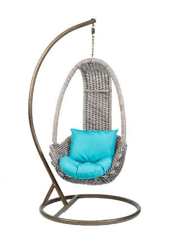 Choice Furniture brown Choice Furniture - Edson Outdoor Swing Chair 13694HL9581E8EGS_1