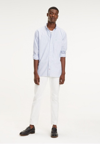 a5b5eef3 Buy Tommy Hilfiger ICON OVERSIZED STRIPE SHIRT Online on ZALORA Singapore