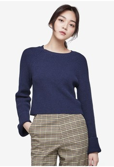 NAIN  Bell Sleeve Knit Top