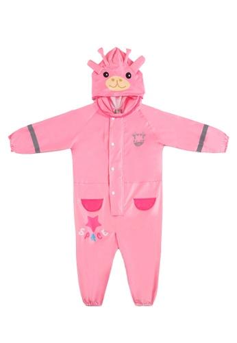 Twenty Eight Shoes pink VANSA Cartoon One-piece Raincoat VCK-R17119 BA830KA08E58A3GS_1
