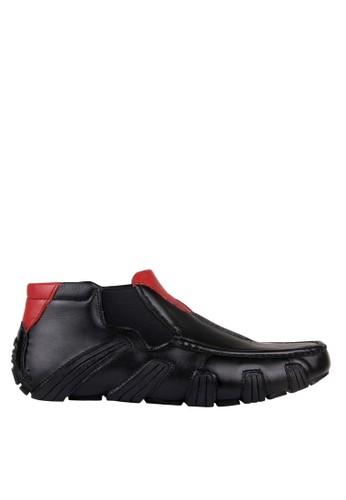Dr. Mocc black Driving 31-Black/Red BA5B0SH59B4CDCGS_1