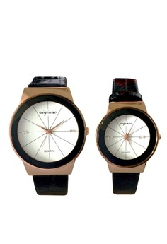New Aiqinuo Couple Watch with Diamond Design