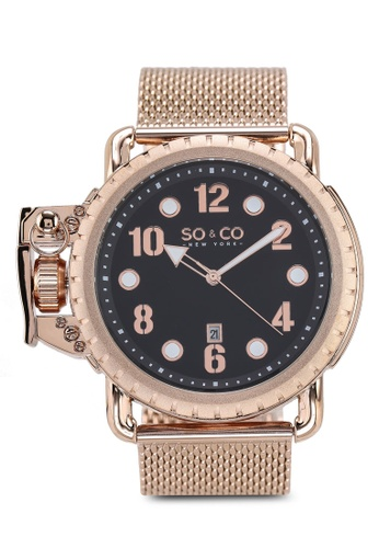 SO&CO gold Yacht Timer 5208 Watch BC149ACFFDA6CAGS_1