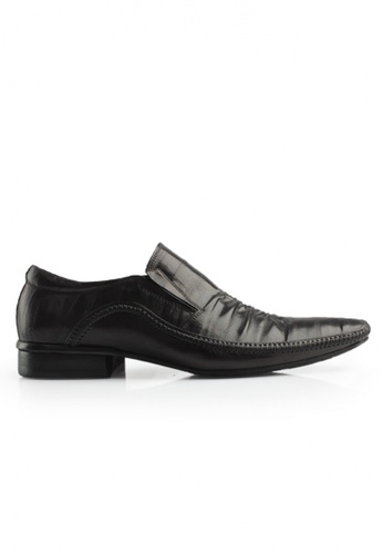 Gino Mariani black Gino Mariani Men's Leather Shoes CARVER  - BLACK DF8D1SHD1F4572GS_1