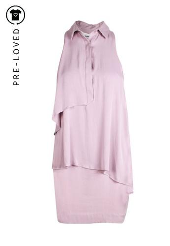 Lover purple Pre-Loved lover Lila Layered Sleeveless Shirt 05722AA354031DGS_1