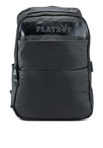 Playboy black Backpack C5055AC430A4E8GS_1