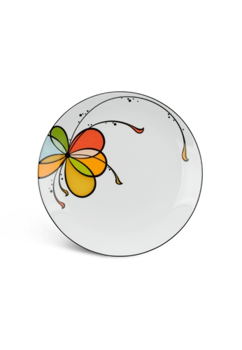 Minh Long I white Balloon: Porcelain Flat Round Plate (22cm) B86ACHLCB31830GS_1
