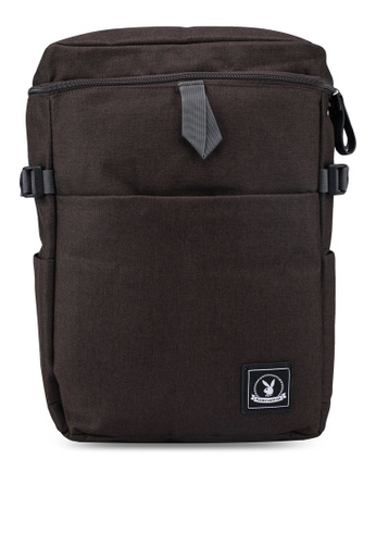 Playboy brown Playboy Backpack 9D46AAC04D19EEGS_1