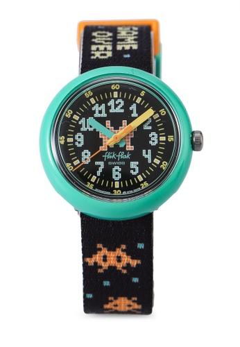 Flik Flak black Time Invader Watch 8EFB6KC9ED5931GS_1