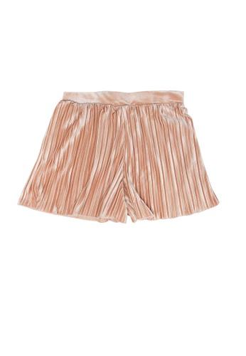 FOX Kids & Baby pink Pleated Shorts 26F10KACA01C57GS_1