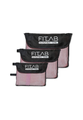 Fitlab pink Microfiber Towel Bundle F7F65HL49BC398GS_1