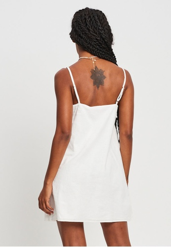 St MRLO white Aggia Mini Dress EFB0BAA90F761DGS_1