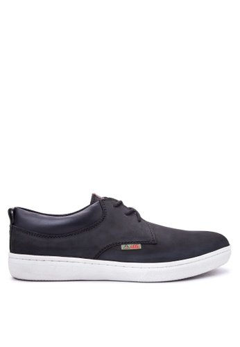 Itti black Lace Up Sneakers IT425SH88ELFPH_1