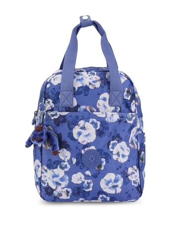 Kipling blue and multi Siva Backpack 86CFAAC806BA67GS_1