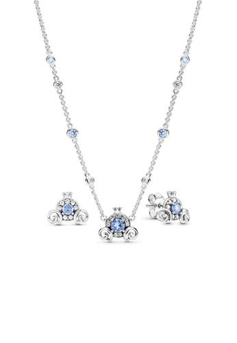Pandora silver Pandora Disney Cinderella Pumpkin Coach Jewellery Set 10FDFACBDE5DBAGS_1