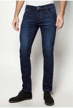 Ergonomic Waist in Stretch Jersey Denim Jeans