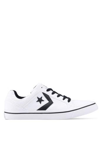 1a2efb53761c56 Converse black and white EL Distrito Core Ox Sneakers 9FAA4SHF6597ECGS 1