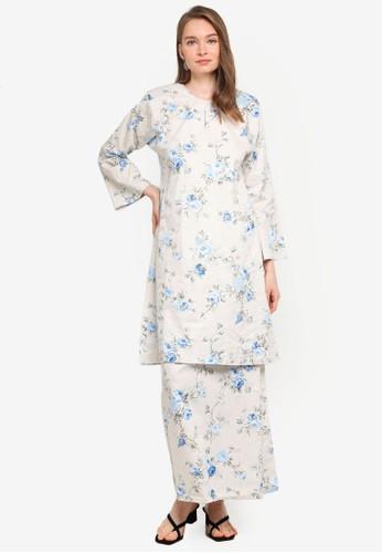 Butik Sireh Pinang white Baju Kurung Pahang Shahira DA16BAAE531DC6GS_1