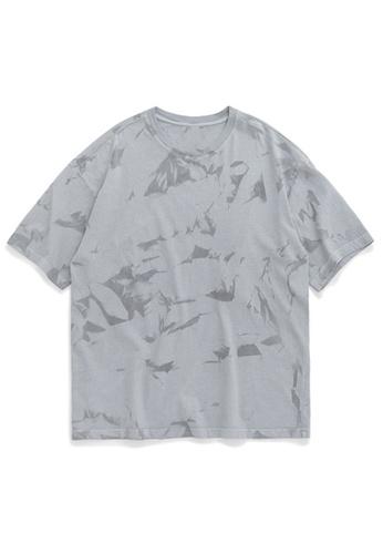 Twenty Eight Shoes Trend Irregular Tie-Dye Short T-shirt 1129S20 5509BAABD89C62GS_1
