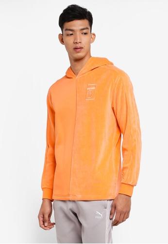 Puma Select orange Puma X Big Sean Hoodie B551BAAC640363GS_1