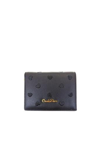 Carlo Rino black Carlo Rino Black Love All Around Bi-fold Wallet B4712AC3DDF375GS_1