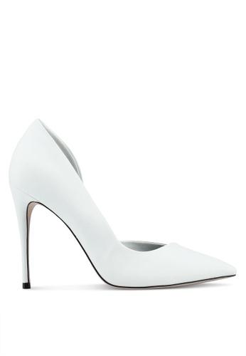 Miss KG white White High Heel Court Shoes C04C2SH54C6FD4GS_1