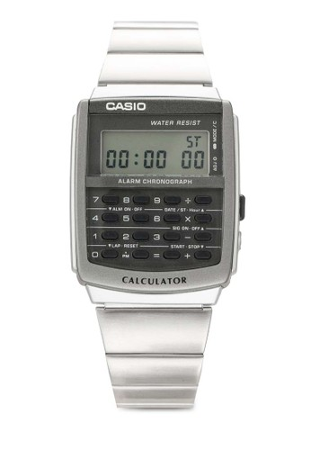 Ca-506-1df 數碼計算機不銹鋼錶, 錶esprit門市類, 飾品配件