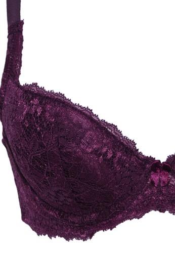 Jual TULIP Tulip Rosie Huntington Full Cup Wire - Purple Original ... 00eb3dd469