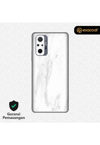 Exacoat Redmi Note 10 / 10 Pro Skins Stone Series - Marble White 58E29ESD673E61GS_1
