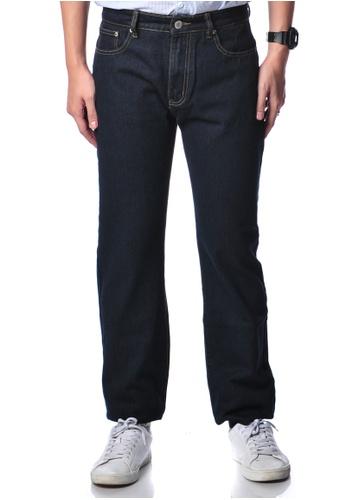 Bum Equipment blue B.U.M Equipment Men Jeans-Regular (DK BLUE) BU054AA0RR5HMY_1