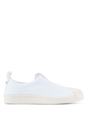 adidas white adidas originals superstar bw35 slipon w AD372SH11WUAMY_1