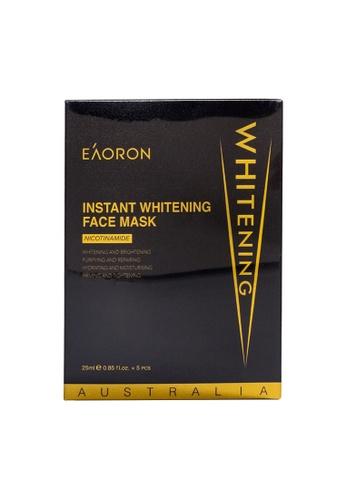 EAORON EAORON Instant Whitening Face Mask (Black Gold) (25ml x5pcs/ Box) 69E5EBE4AADCA6GS_1