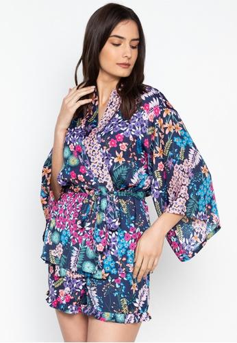 77775577810bf Shop Josie Lotus Bouquet Robe Online on ZALORA Philippines