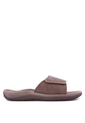 Rider brown Dunas Evolut Slide Ad Sandals RI584SH0JXIDPH_1