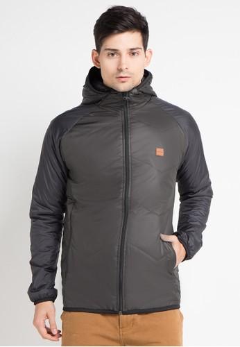 Cressida multi and brown Heavy Hoodie Jacket CR235AA0WE7VID_1